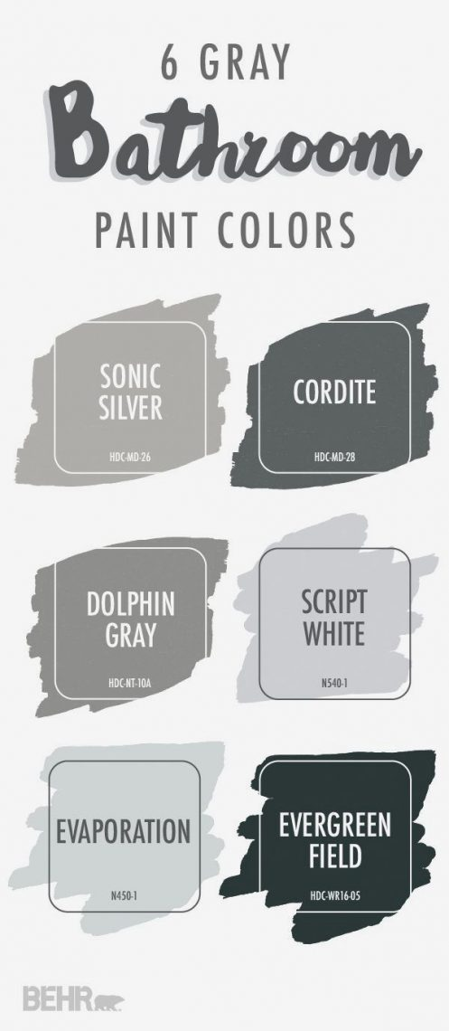 Best gray paint colors by behr.com