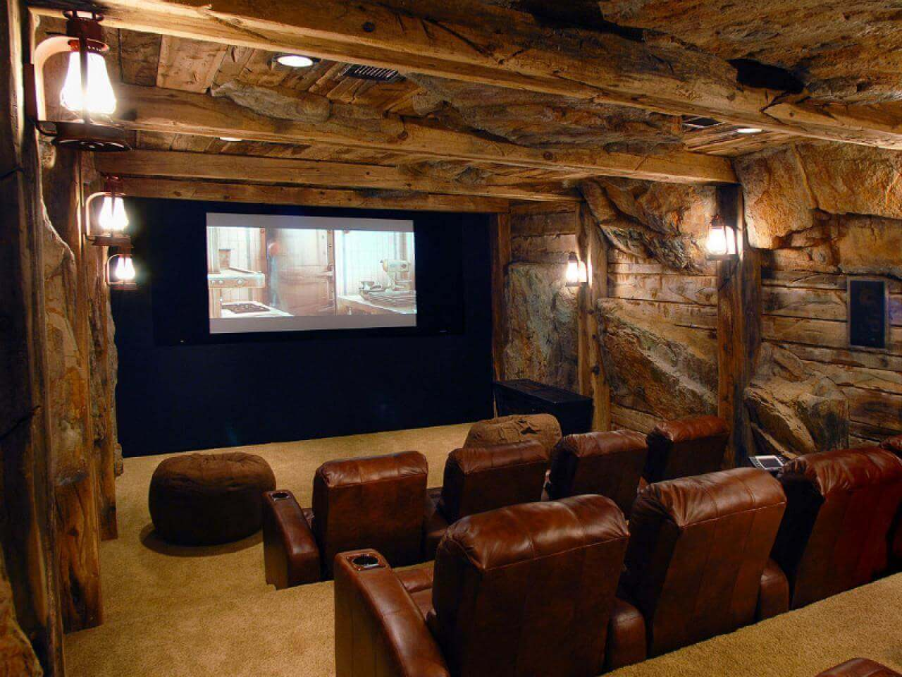 basement home cinema ideas