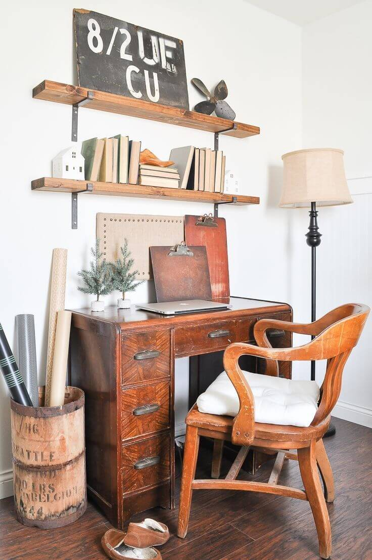 Eye-opening small home office storage ideas