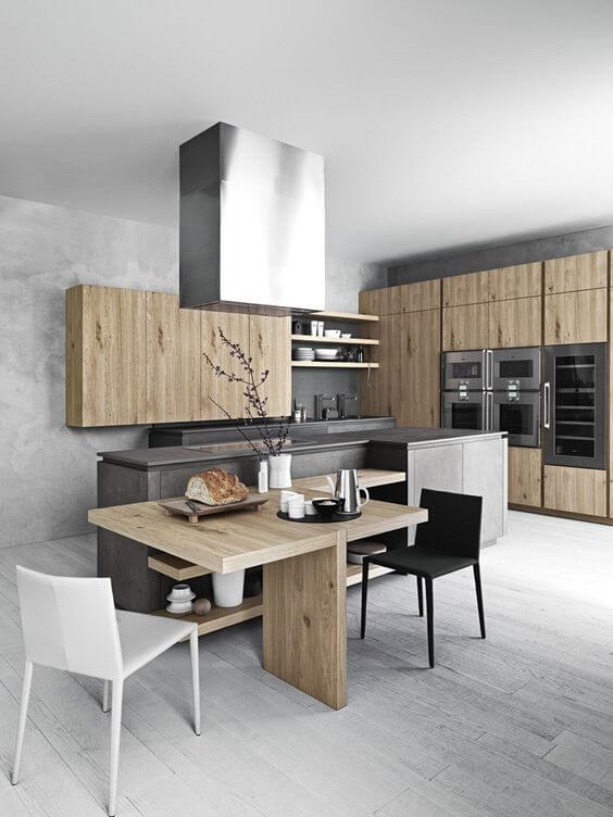 Incredible kitchen center island cabinets #kitchen #kitchenisland #kitchendesign #kitchenideas