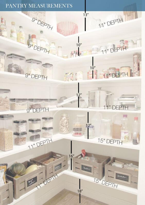 Striking pantry solutions #kitchen #kitchendesign #pantry #pantryorganization #closet