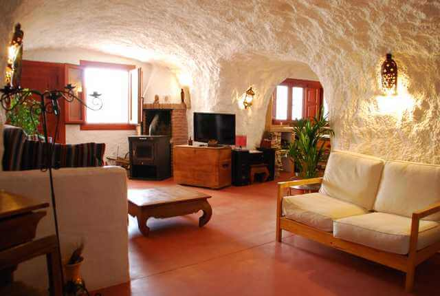 cave house interior