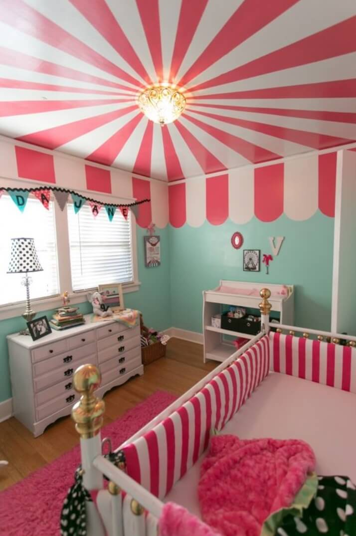 newborn baby girl nursery ideas