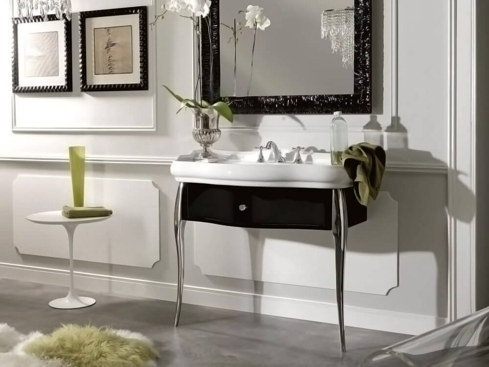 Modern Vanity with Retro Affair