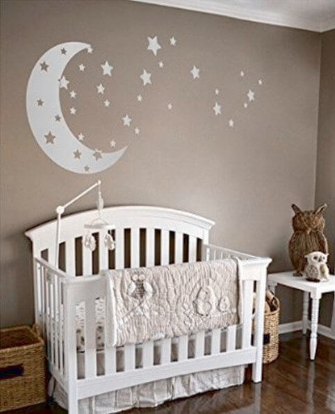 Terrific baby boy nursery ideas stars