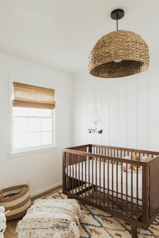Excited baby boy and neutral gender nursery ideas simple