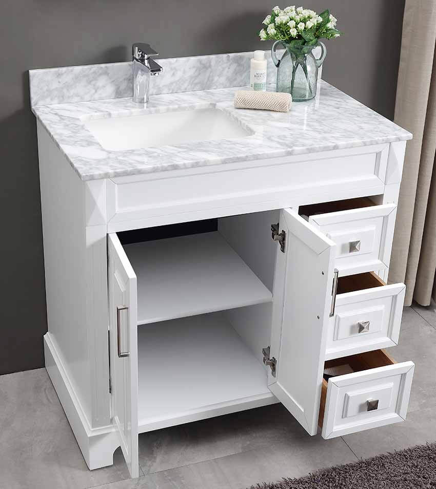 Constantia 36 Inch Bathroom Vanity CS1902-36D - Vanity Ideas for small bathroom