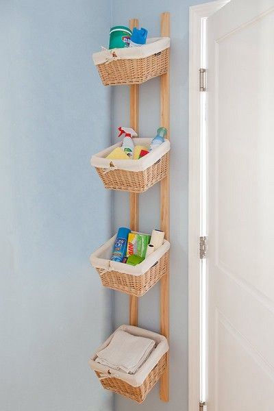 Spectacular small laundry room storage ideas