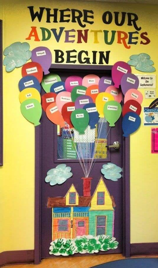 Unique classroom decorating ideas for january