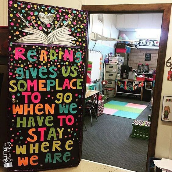 Excited classroom decorating ideas science