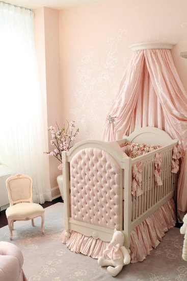 Lovely Baby Girl Nursery