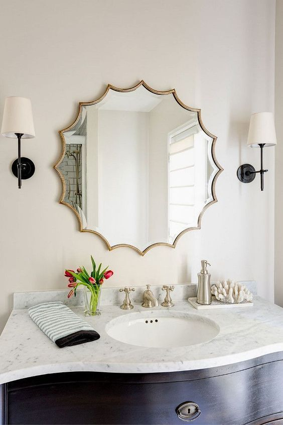 Eye-opening bathroom mirror designs pictures #bathroom #mirror #vanity #bathroomdesign #bathroomremodel #bathroomideas