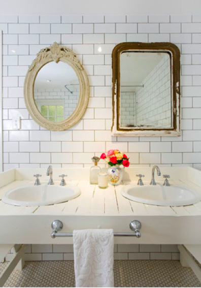 Glorious bathroom over mirror lighting ideas #bathroom #mirror #vanity #bathroomdesign #bathroomremodel #bathroomideas