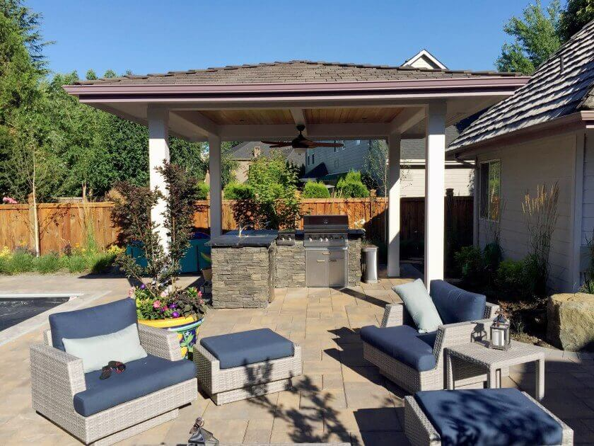 outdoor patio BBQ Cover