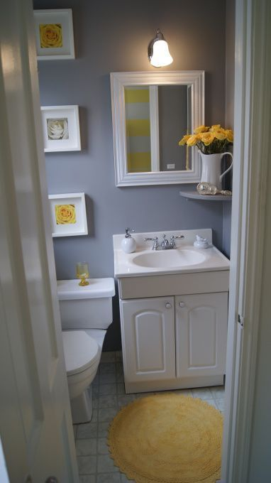 Charcoal Grey and White Bathroom color schemes