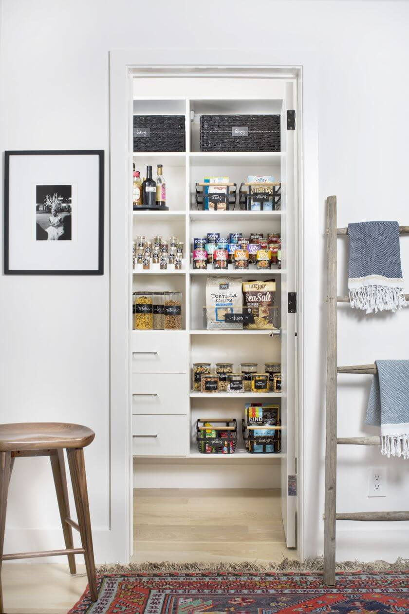Unique kitchen pantry organization ideas
