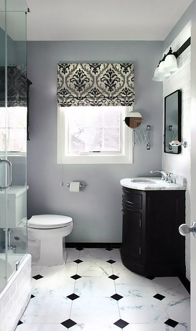 Black and Grey Bathroom Color Ideas
