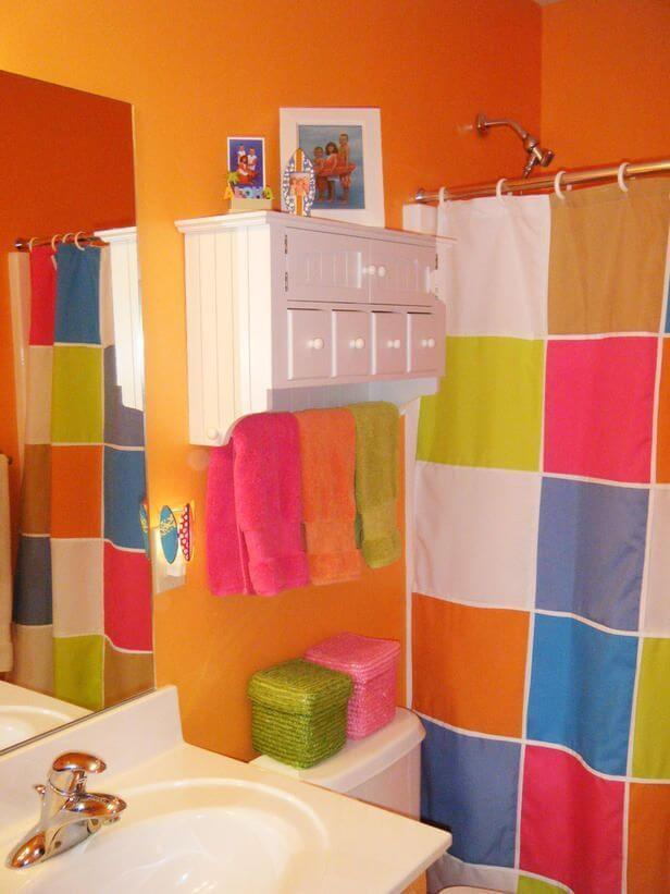 Colorful Bathroom Bathroom Color Ideas