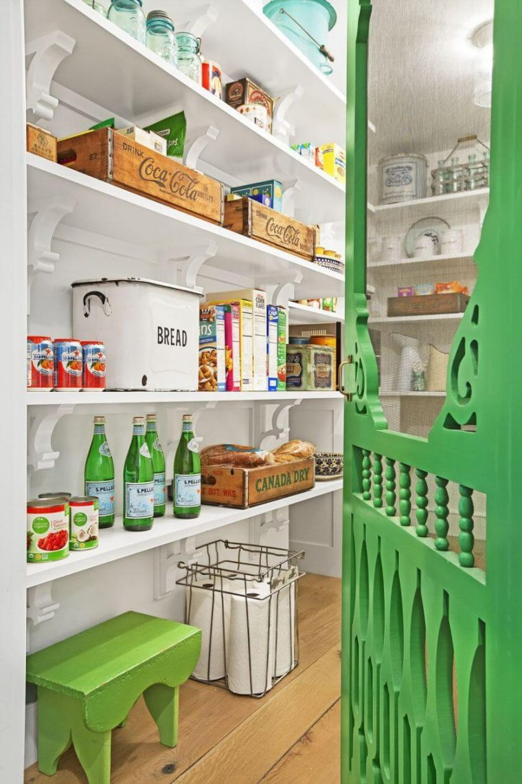 Wonderful kitchen pantry shelving ideas