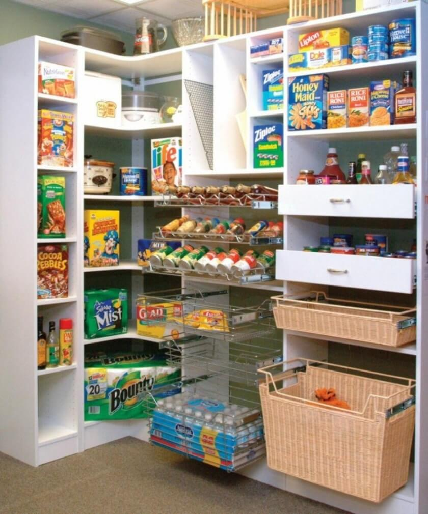 Sensational kitchen pantry door ideas