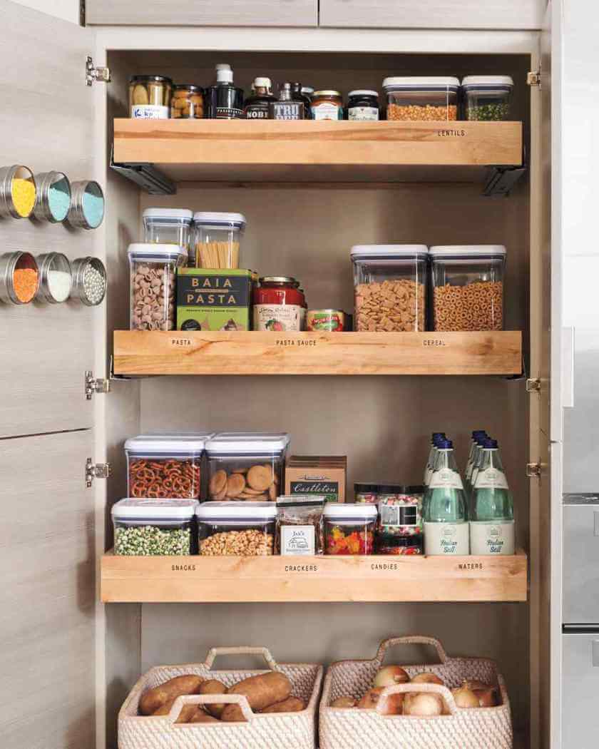 Spectacular kitchen pantry organization systems