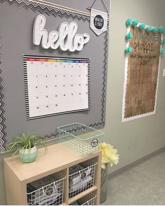 Amazing classroom decoration ideas and storage organization