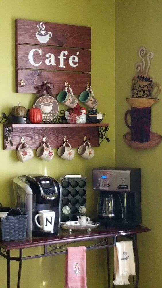 Perfect coffee station furniture