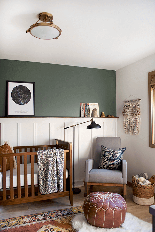 Striking classic baby boy nursery ideas