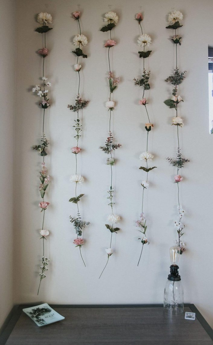 Artificial Colorful Flower Hanging