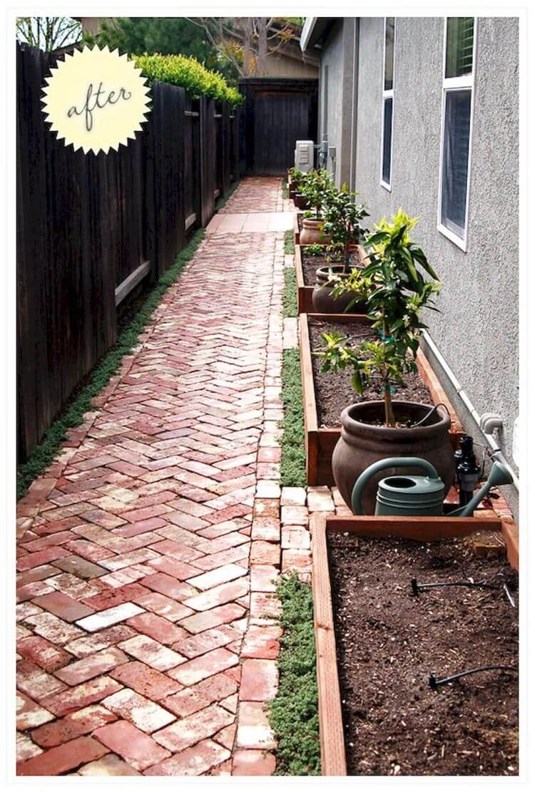 30+ Small Backyard Landscaping Ideas on A Budget ... on Side Patio Ideas id=20634