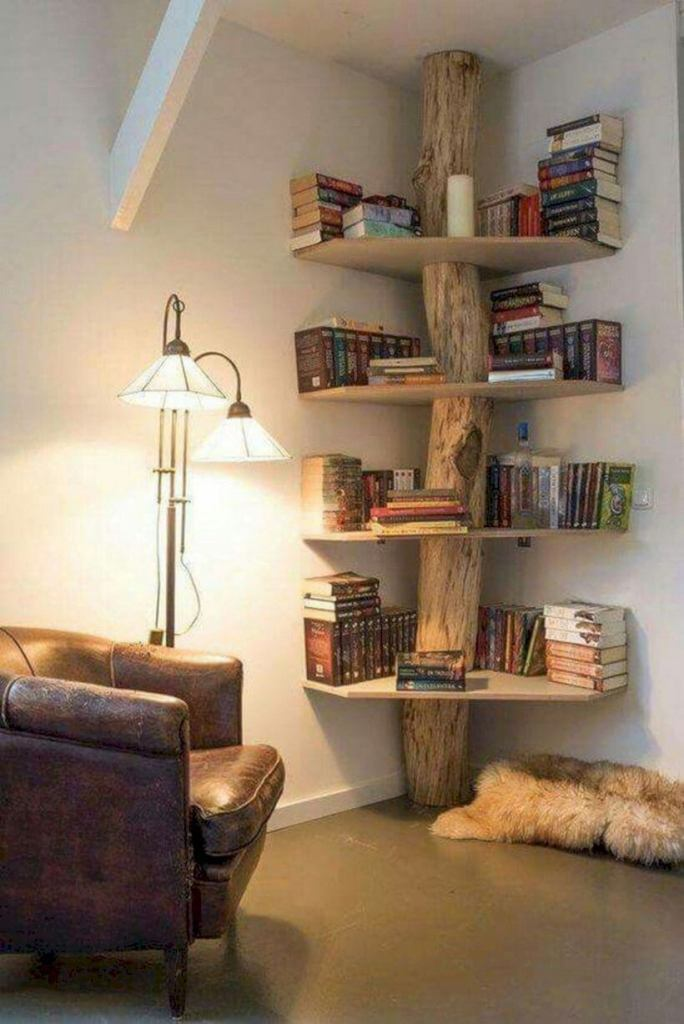 Book Corner for a Bookworm DIY Home Decor Ideas