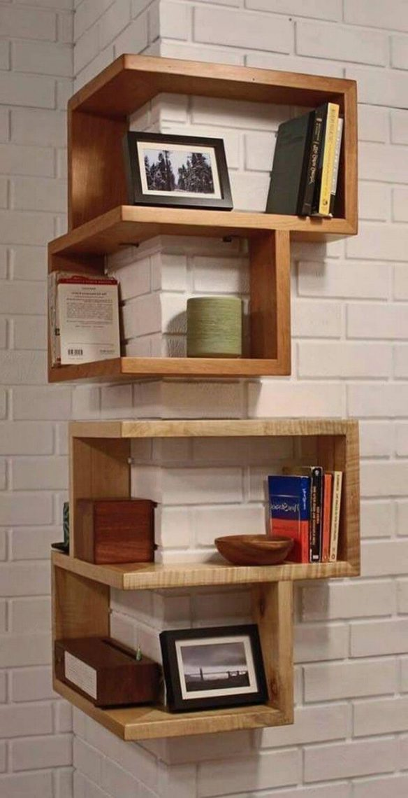Corner Shelves for Your Showcase