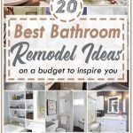 20 Best Bathroom Remodel Ideas on A Budget to Inspire You