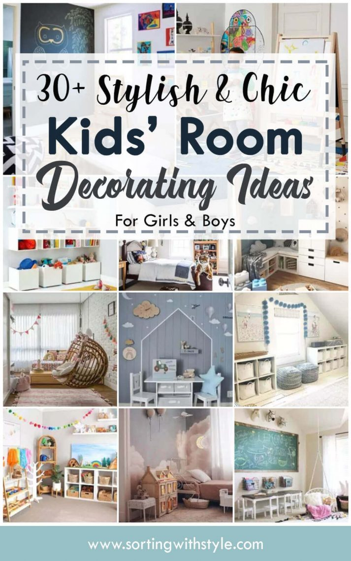 Chic Kids' Room Decorating Ideas for Girls & Boys