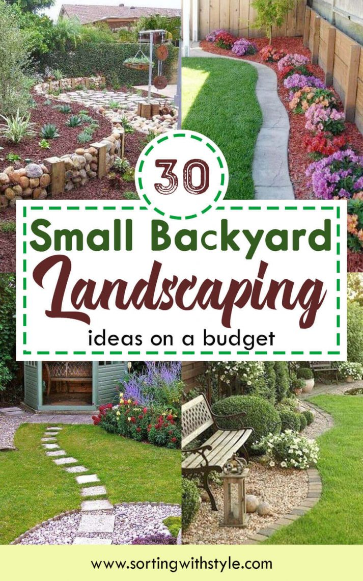 30+ Small Backyard Landscaping Ideas on A Budget ... on Small Backyard Renovations id=86006