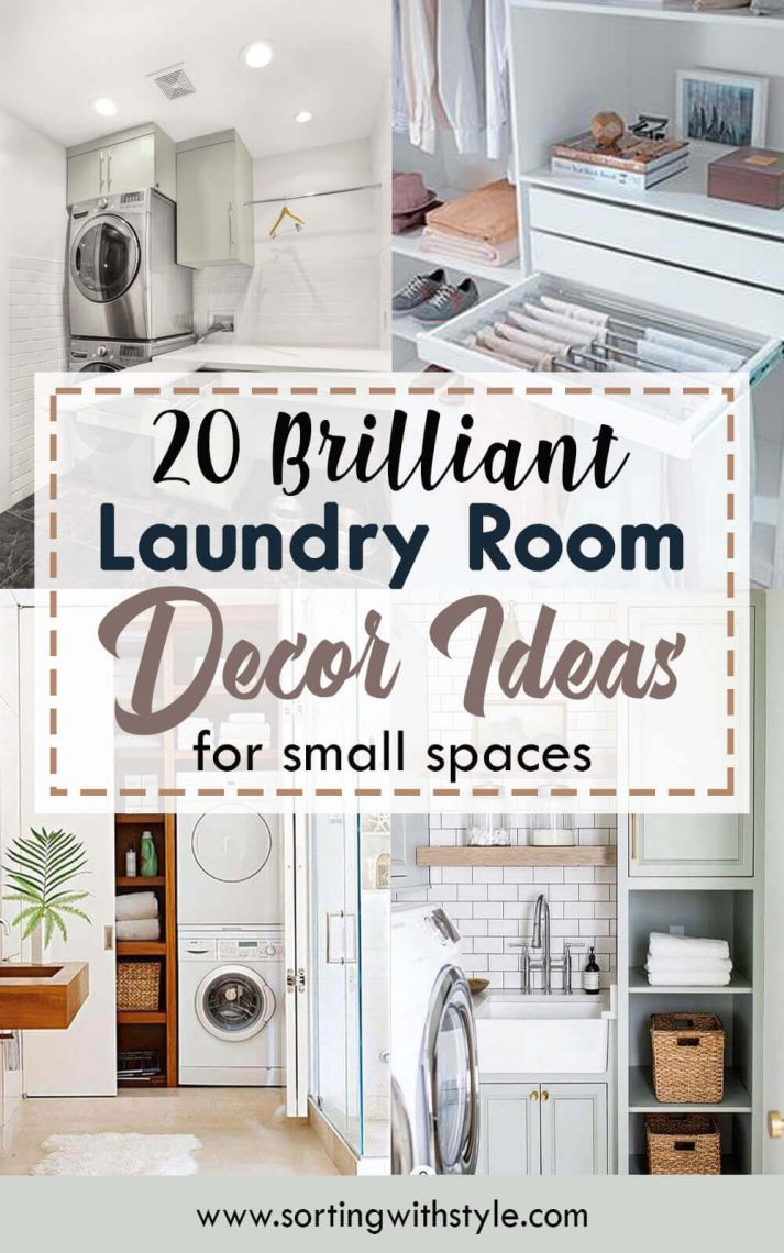 20 Brilliant Laundry Room Ideas For Small Spaces Practical Efficient