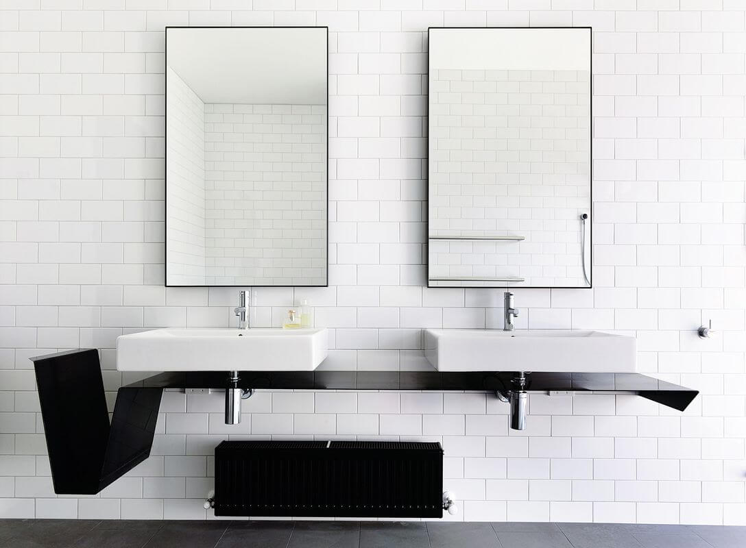 The Couple bathroom mirror ideas