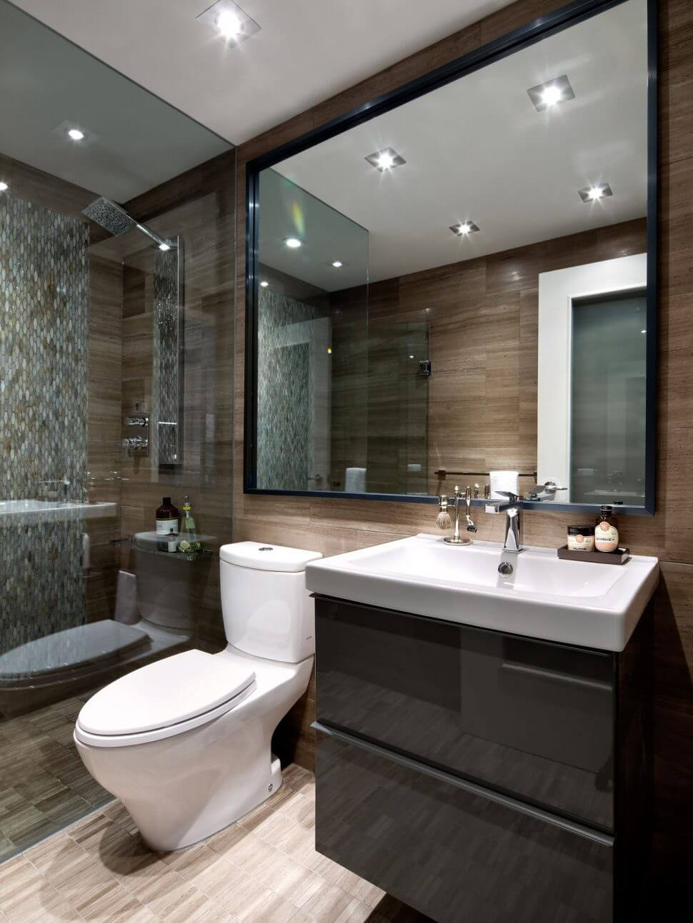 Thin Frame stunning bathroom mirror ideas for single sink and diy vanity as wells amusing