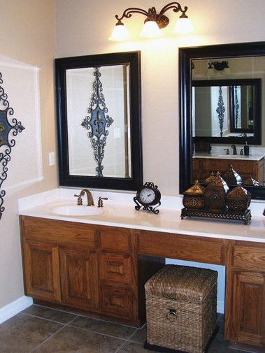 Stay Classic bathroom mirror ideas