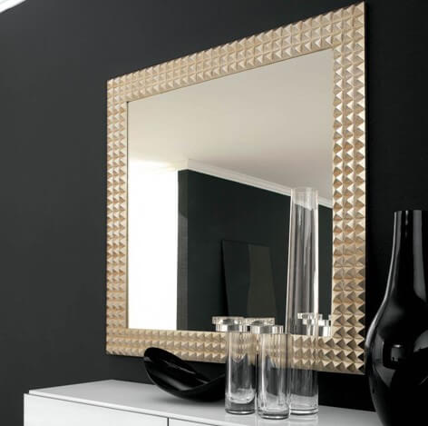Shining finish - Bathroom Mirror Ideas