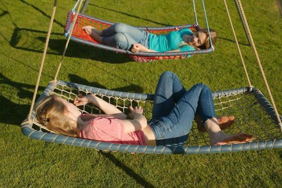 hammocks - children's backyard playground