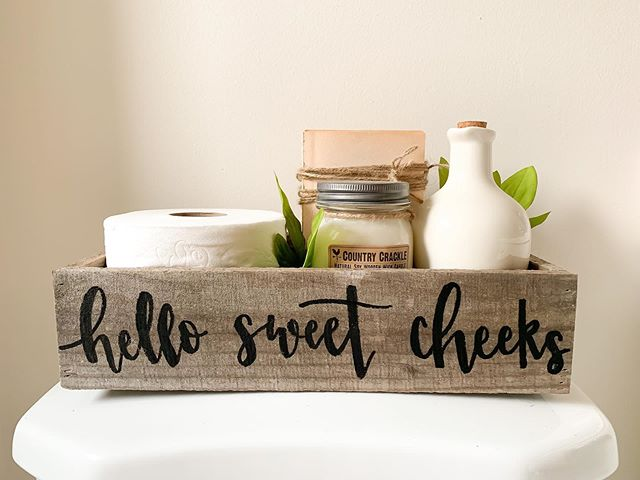 Chic Toiletries Holder for Rustic bathroom