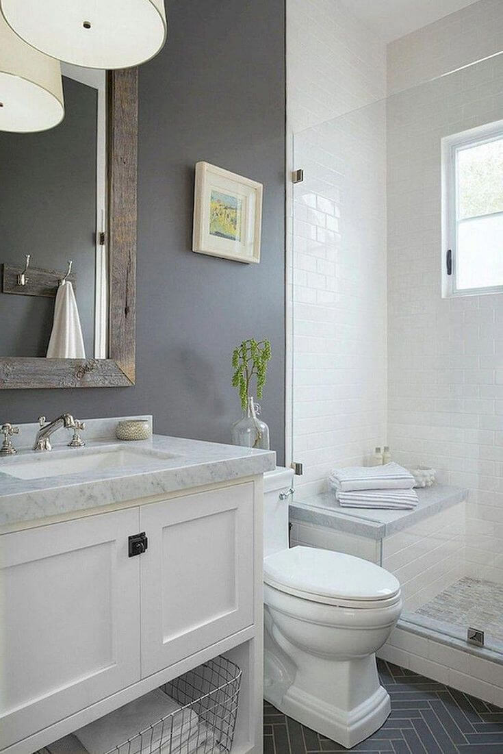 35 Beautiful Gray Bathroom Ideas With Stylish Color Combinations