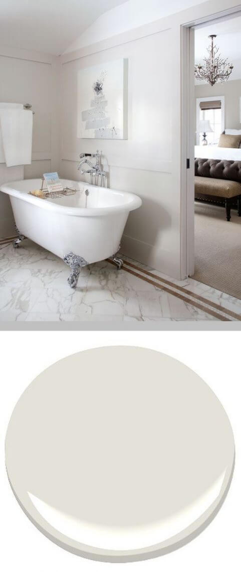Classic Gray Paint for bathroom