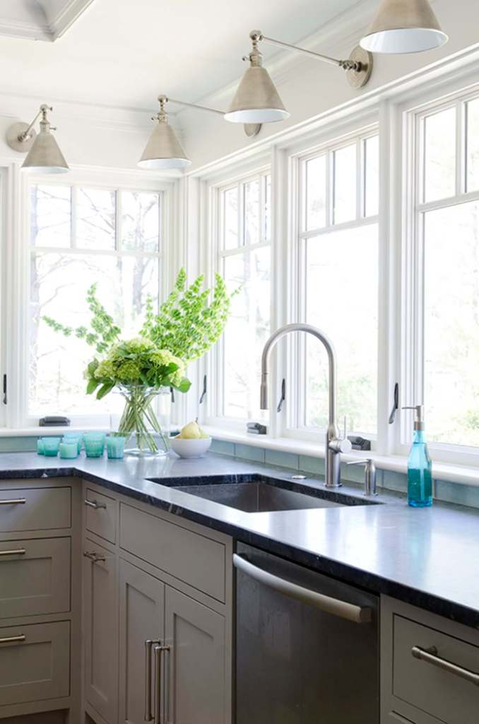 Brilliant kitchen lighting ideas above sink
