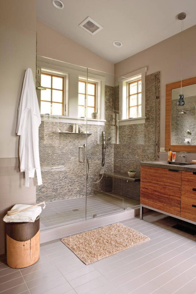Mind-blowing Brown and Gray Bathroom Decor