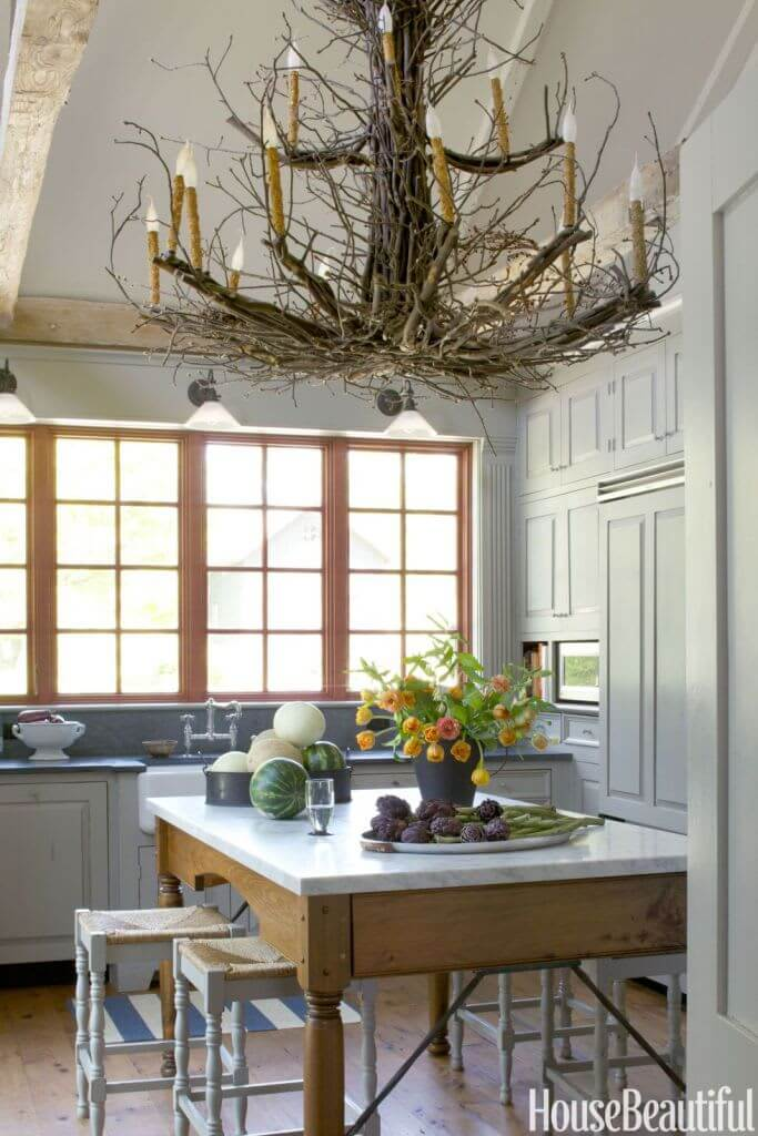 Modern Tree Branch Chandeliers