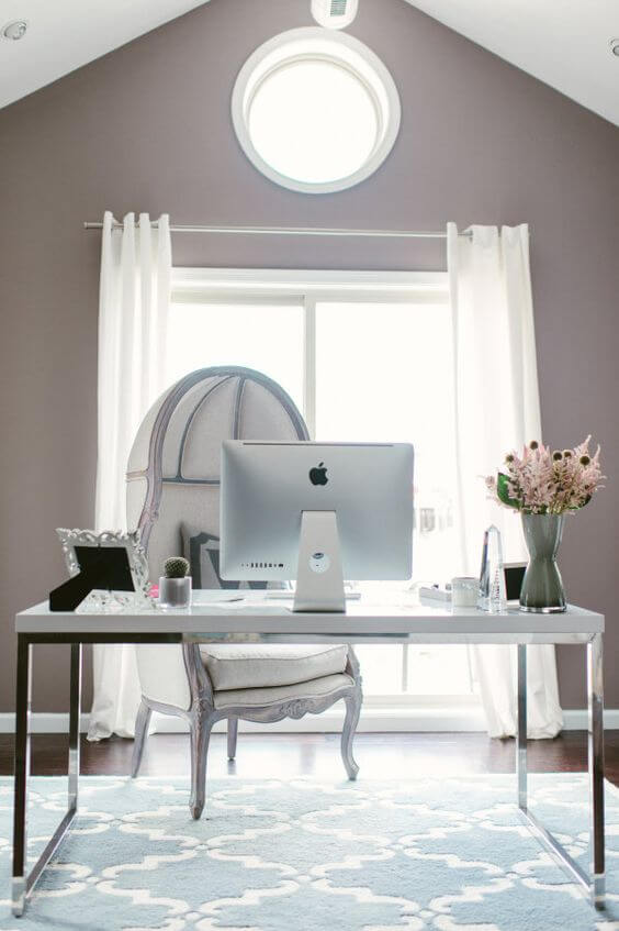 Sophiticated Gray Office