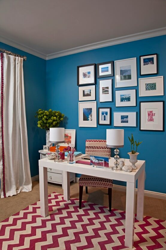 21 Best Home Office Paint Color Ideas That Will Inspire You
