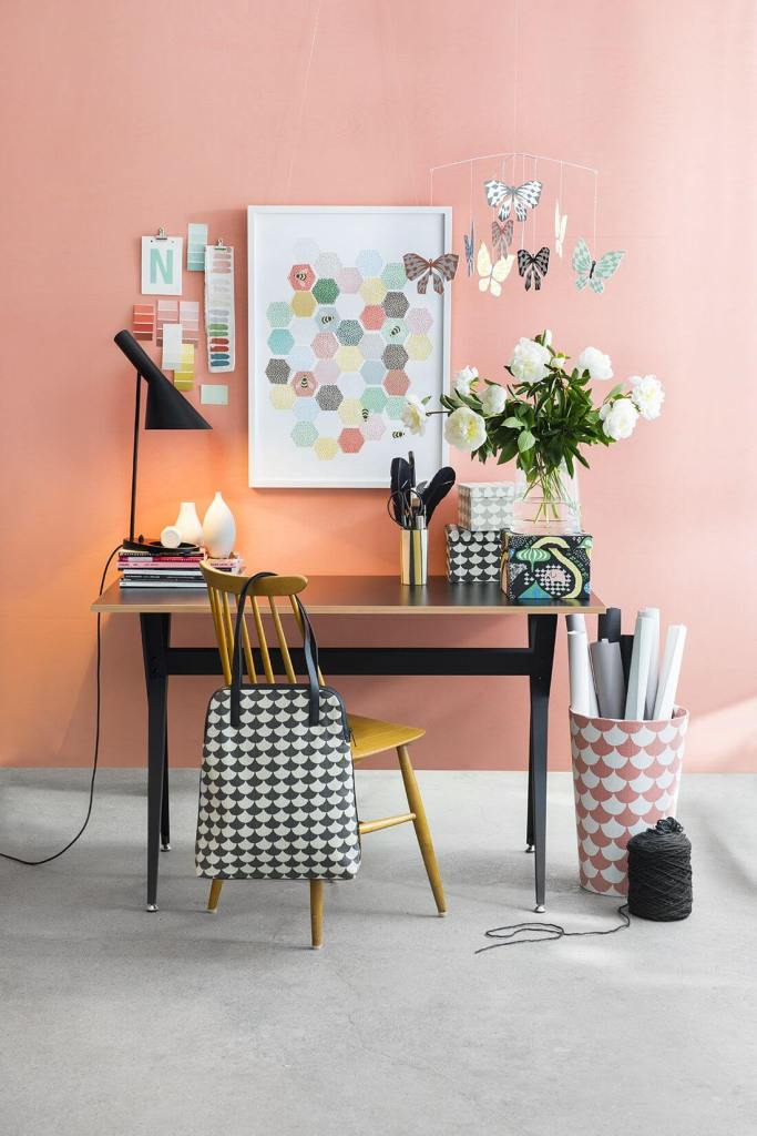 Perfect with Coral home office